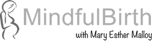 Mindful Birth print logo